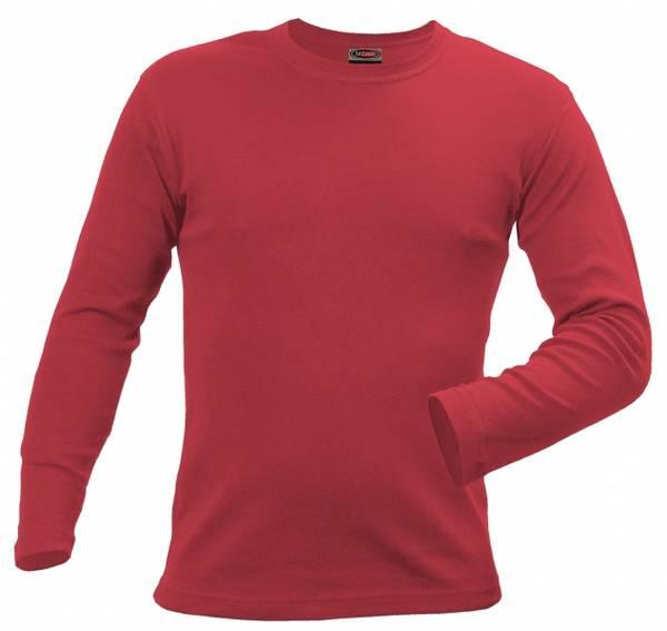 Bilde av Langermet slim fit t-skjorte-